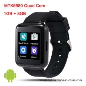 2016 New Original Q1 Mtk6580 1GB/8GB WiFi 3G Android 5.1 OS Bluetooth Smart Watch pictures & photos