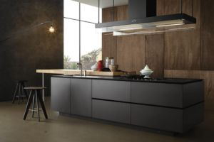 Modern Melamine Kitchen Island Furniture pictures & photos