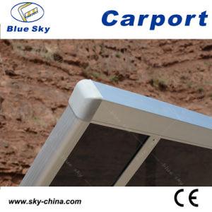 Economic Polycarbonate Roof Aluminum Carport (B800) pictures & photos