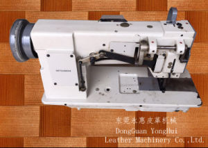 Uesed Mitsubishi Double Needle Compound Feed Sewing Machine (LU2-4420) pictures & photos