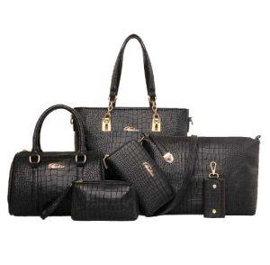 Wholesale Leisure 6PCS Set Fashionbale Bag Leather Designer Hand Bag (XM0282) pictures & photos