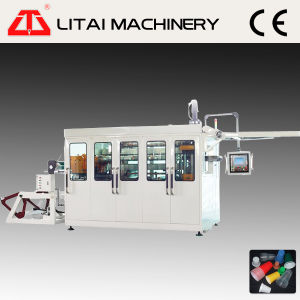 Touch Screen Plastic Cup Coffee Cup Thermoforming Machine pictures & photos