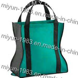 Recyclable Tote Bag with Reinforced Handles (M. Y. C. -015) pictures & photos