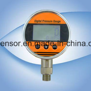 Air Digital Pressure Guage with Temperature Display pictures & photos