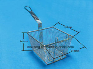 Square Deep Fry Basket Commercial Kitchen Utensils pictures & photos