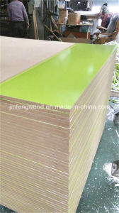 1220*2440mm Furniture Grade Green Color Melamine MDF pictures & photos