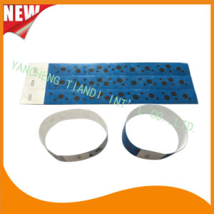 Tyvek Entertainment Custom Party VIP Paper ID Wristbands (E3000-1-59) pictures & photos