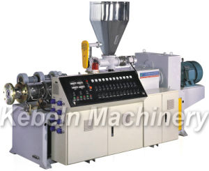 SJZ Series Conical Twin-Screw Plastic Extruder pictures & photos