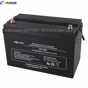 Purchase 12V100ah Lead Acid Battery Factory with Certificates pictures & photos