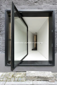 Best Price Guarantee Aluminium Front Pivot Doors pictures & photos