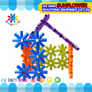 Children Plastic Desktop Toy Star Building Blocks