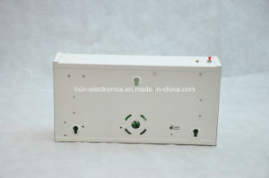 Wall Mounting UL Listed Single Face Steel Housing LED Exit Sign pictures & photos