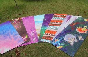 Customize Pattern Printed Yoga Mat, OEM China pictures & photos
