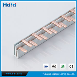 Copper Busbars MCB Busbar Pin Type Fork Type C45 Type pictures & photos