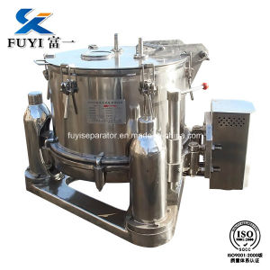 Continuous Basket Centrifuge for Salt / Food / Material / Medical pictures & photos