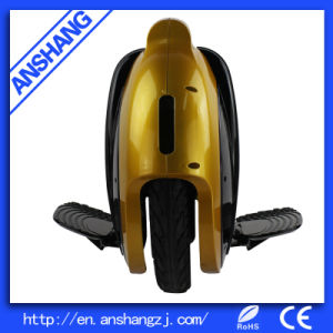 Golden Safe Electric Technology Unicycle with Bluetooth Music pictures & photos