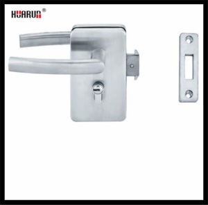 Stainless Steel Glass Door Lock With Wall HR-1130/HR-1130B  : pictures & photos
