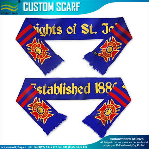 Sports Fans National 100% Acrylic Knitted Scarf (B-NF19F10020) pictures & photos