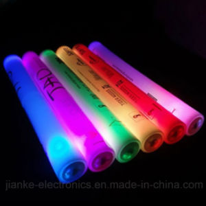 Promotion Color-Changing Foam Light Stick with Logo Print (4016) pictures & photos