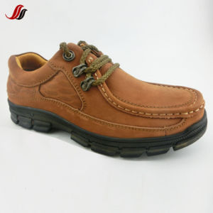 New Style High Quality Men′s Casual Leather Shoes (FMF10) pictures & photos