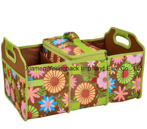 Custom Flower Print Collapsible Trunk Organizer and Cooler pictures & photos