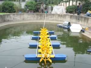 Long Arm Paddle Wheel Aerator Driven by Diesel pictures & photos
