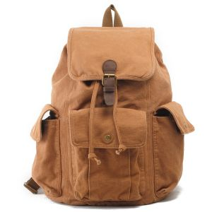 Washed Canvas 100% Cotton Student Bag (RS-2106A) pictures & photos