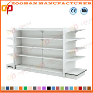 Double Sides Wire Back Supermarket Display Stand Shelf (ZHs645) pictures & photos
