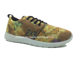 Fashion Ladies Casual Footwear with Lace (J2285-L) pictures & photos