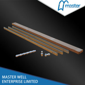 Steel Gear Racks for Sliding Gate Opener/Heavy Steel Rack/Sliding Gate Rack/Steel Rack Gear/Nylon Rack pictures & photos