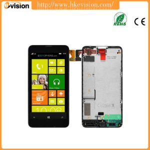Touch Screen Digitizer + LCD Display Frame Part for Nokia Lumia 630 pictures & photos