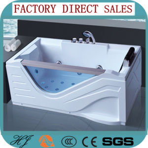 1900mm Big Size Indoor with Glass One Person Massage Bathtub (5209) pictures & photos