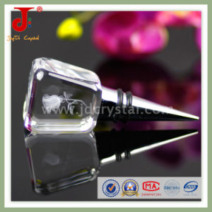 Novelty Crystal Glass Wine Bottle Stopper (JD-WS-409) pictures & photos