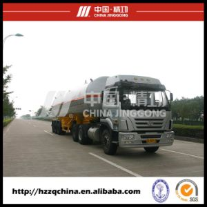 LPG Tank Semi Trailer Transport Liquefied Petroleum Gas pictures & photos