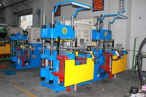 Silicone Rubber Compression Molding Machine for Profile Rings Made in China pictures & photos