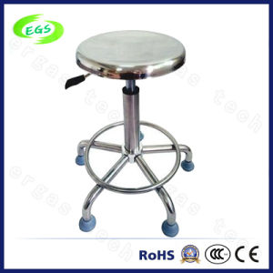 Stainless Steel Adjustable ESD Antistatic Work Stool (EGS-3324-B2BB) pictures & photos