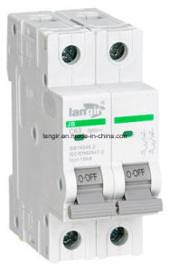 Jb-63 2p DC Solar Circuit Breaker (TUV Certification) From 1A to 63A pictures & photos