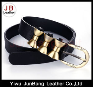 New Fashion Line PU Belt with High Quality for Women pictures & photos