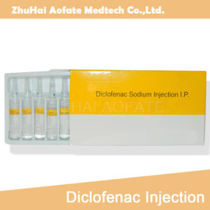 Diclofenac Sodium Injection 10ml Relieve Pain OEM GMP pictures & photos