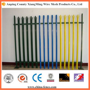 Powder Coated Steel Palisade Fence Cheap Sale pictures & photos
