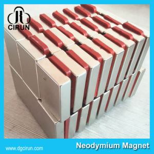 China Manufacturer Super Strong High Grade Rare Earth Sintered Permanent Magnetic Knife Holder Magnet/NdFeB Magnet/Neodymium Magnet pictures & photos