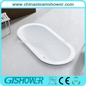 Indoor Drop in Oval Acrylic Bath Tub (BL1002BP) pictures & photos