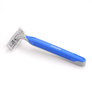 Hot Sell Hanging Card Packing Twin Blade Sweden Stainless Steel Disposable Razor (JG-GK8003) pictures & photos