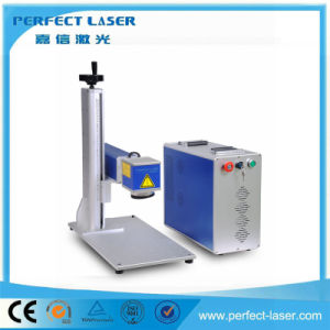 20W Desktop Fiber Laser Marker Engraving Machine pictures & photos