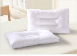 Super Soft White Cotton Protect Neck Pillow pictures & photos