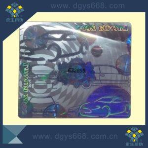 Custom Design Laser Sticker Printing pictures & photos