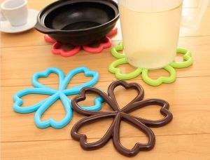 Wholesale Silicone Cute Round Tea Coaster for Kitchenware pictures & photos