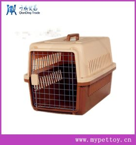 Plastic Handle Pet Carrier Plastic Dog Crate Kennel pictures & photos