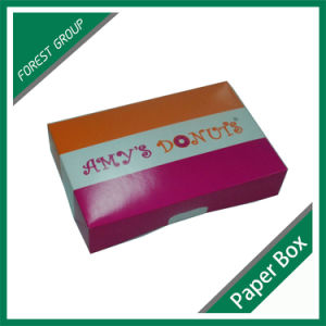 Wholesale Full Color Food Cardboard Dunut Packing Box pictures & photos