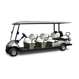 48V 3.7kw 8 Seaters Electric Golf Cart (LT-A627.6+2) pictures & photos